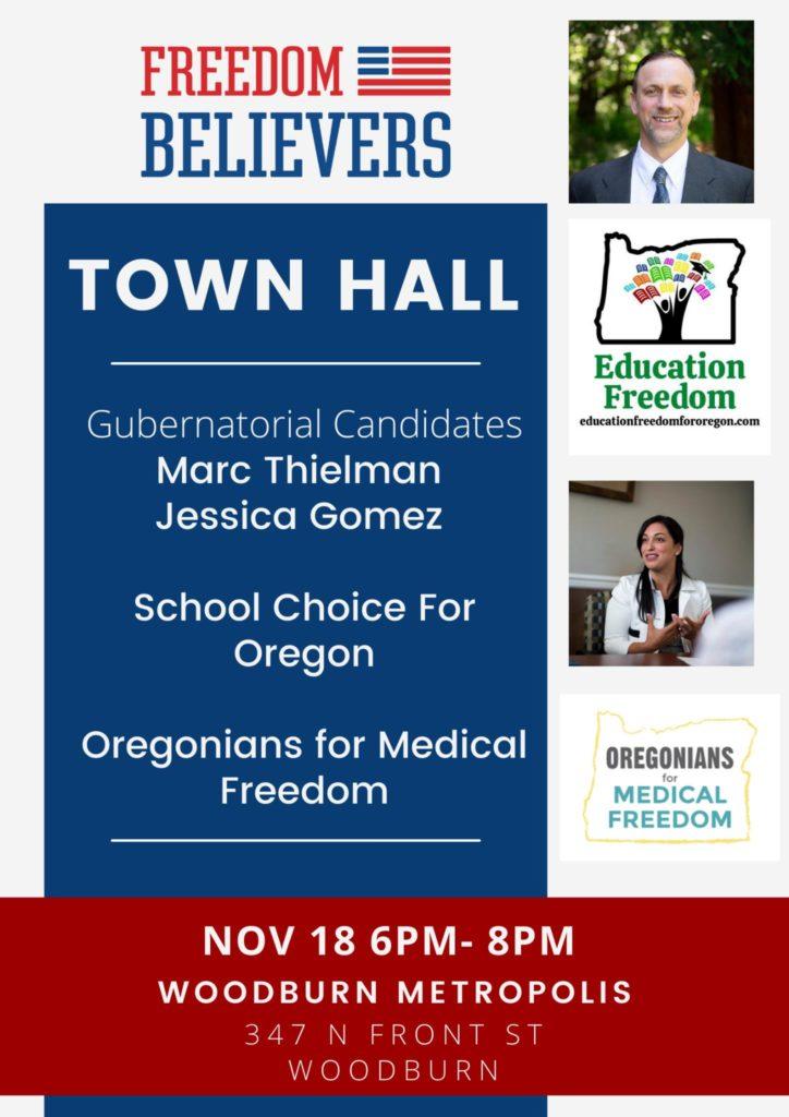 November 18th Town Hall